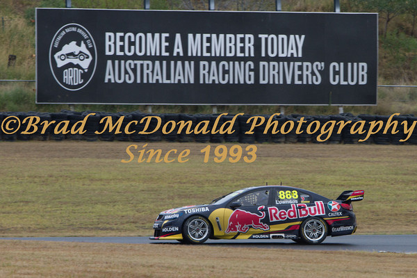BRADMcDONALD V8 SUPERCARS TEST DAY-1502141643
