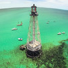 An aerial photo from the Florida Keys. Aerial photography has become more popular recently with many photographers taking to the skies using small unmanned aircraft. Photographers use the small copters for everything from real estate promotion to large event coverage to motion pictures, while others just use them as a hobby. All say the new vantage point gives them unique photos and videos.<br />  (Photo by Clay Folden, owner of SkyFrame)