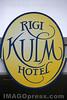 Wirtshausschild Rigi - Kulm Hotel.