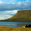 Abandoned farm on north shore of Iceland