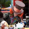 The Mad Hatter at Farmer's Market in Invermere
