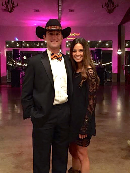 *Dn't put in album  Cowboy formal with Maccauly while Steph in NYC - Nov