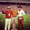 Seniors Christian, Luke Andrews and Tom - Cotton Bowl - Dallas - Oct 2014
