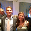 Larry Luck, Patrick, Rachel and Sam - Reid's wedding - Houston