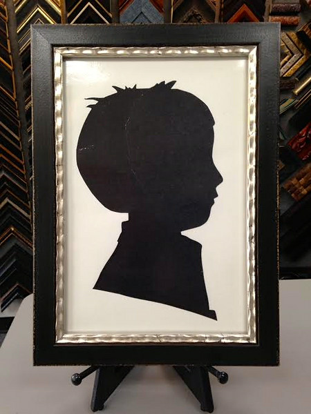 Just framed Tom's silouette! - June