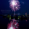 July 4th fireworks at Port Washington Marina 2015