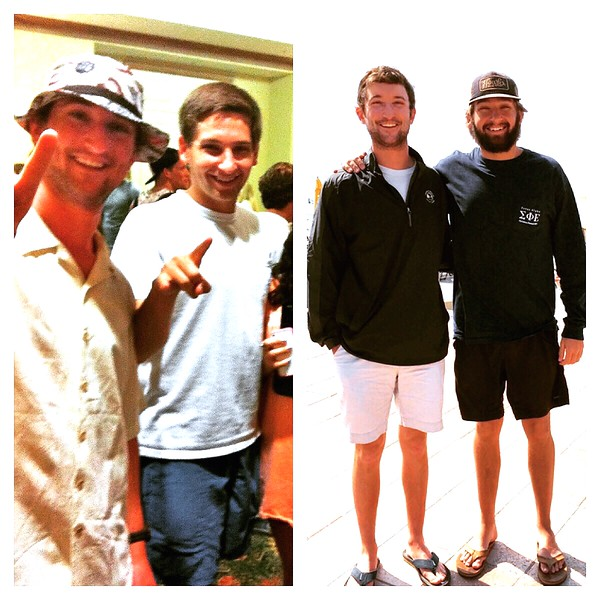 Two spring breaks- Freshman --> Senior ! - Both in Destin - 2012 and 2015