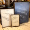 Sugarboo & Co - different sizes of Framed Book Page - Jan