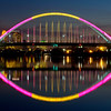 325/365-Bathed in color-The Lowry Avenue Bridge