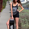 Sk8er Girl with Skateboard