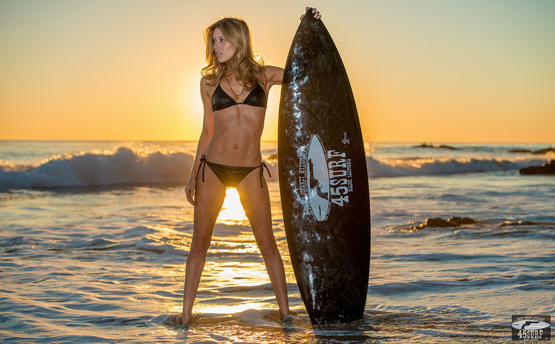 Sunset Photos of Swimsuit Bikini Model Goddess! Nikon D800 pics in the Magic Hour in Malibu!