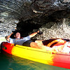 Langkawi, malaysia, kayaking through mangrove swamps and caves