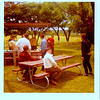 AF Friends - Lake Nasworthy BBQ, spring 1970, Herb Bechtel far rt, & maybe Mike Daul & wife in back - others