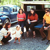North Ple, june, 1971 - sue dobler, jenny, jan, holly leaply, clyde dobler