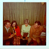 AF friends - Herb & Bernie Bechtel's party - Spike & Keys Bloom, Cindy & Glen Pere, San Angelo, TX, feb 1970