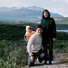 Us, Tangle Lakes, Alaska, july 1971