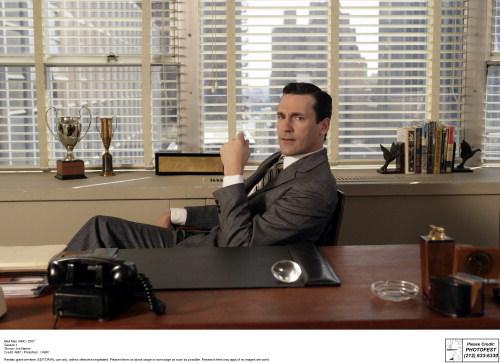 Mad Men photos for Chapter 1 Opener  Choice 2 of 10  Mad Men (AMC) 2007 Season 1 Shown: Jon Hamm
