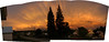 Townsite Sunset Panorama