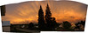 Townsite Sunset Panorama - 2