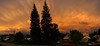 Townsite Sunset Panorama 2