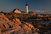 Sunrise at Portlandhead Lighthouse - Coastal Maine - Andrew Ehrlich - October 2013