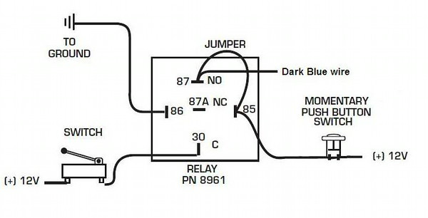 7531 dark blue latch relay
