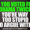 stupid voters