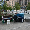 Public Piano Project Dewey Square