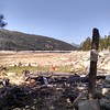 What is left of Edison Lake, the water line should be at the orange bucket.  Drought stinks!!