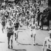 "Why is it called ""Heartbreak Hill""? <br /> The hill is the last of four in Newton, and only rises 88 feet. But it comes at a time when most runners have depleted their ""muscle glycogen"" and ""hit the wall."" It got its famous name from the 1936 race, when Johnny Kelley passed Ellison ""Tarzan"" Brown and patted him on the back. Brown rallied and won the race, thus breaking Kelley's heart.<br /> <br /> Charles Dixon/The Boston Globe via Getty Images"