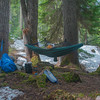 Camping in the Alpine Lakes Wilderness of Washington State