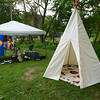 Radnor officials estimated 200 people took part in 'The Great American Backyard Campout'  at the Willows  Saturday June 28. Camping with his family, Radnor Commissioner Don Curley said the event was a great success. Photo Pete Bannan