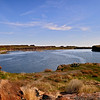 Migraine Lake, one of many that were formed, that families enjoy visiting for fishing as well as wildlife viewing.