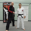 Joe with Shihan Martin Day Combat Karate Noosa