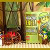 "Lego Entry.   Lego club contest Advertisement:   ""Pirate Shores"""