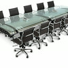 Gulfstream Flap Conference Table