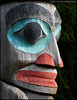 """TOTEM POLE 2"",Ketchikan,Alaska,USA."