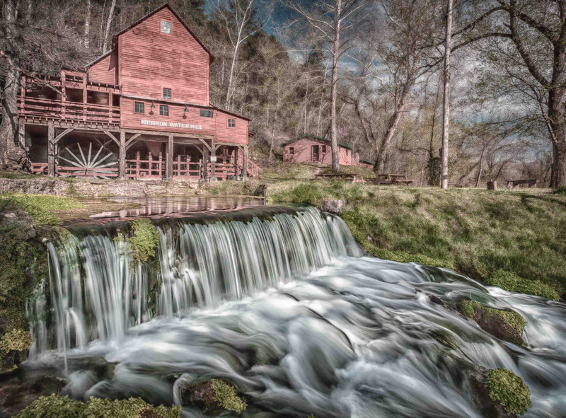 02MAY2013  Hodgson Water Mill  From the trip last month to Arkansas.   Hope you have a great day! Thanks for the wonderful comments and for looking at my work.