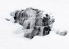 020814 Ricketts Glen State Park Frozen Waterfall