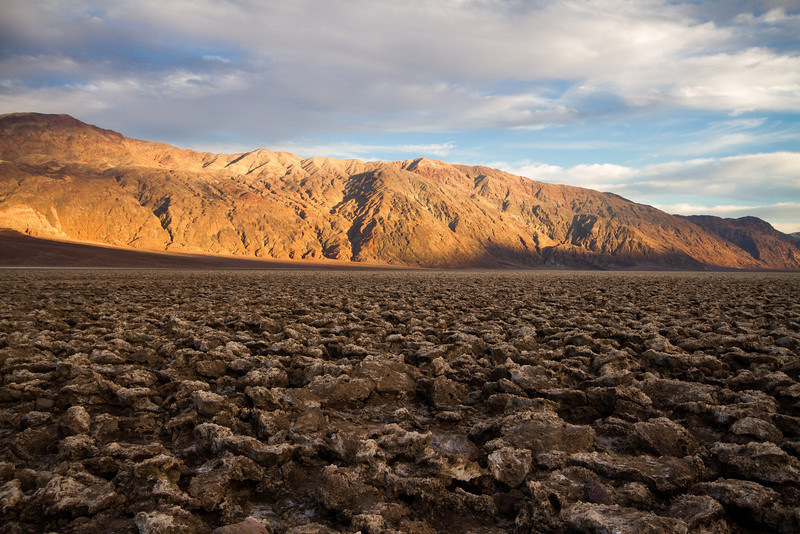 Devil's Golf Course, Death Valley