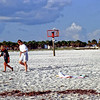 l-r: Jonathan Stone, Kristen Hilburger on Sand Key Beach in Clearwater, FL