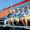 l-r: Bert Hilburger, Liz Dunlop, Chuck Dunlop, Gretchen Hilburger, Donna Largent in Gators Stadium