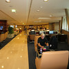 Emirates business lounge Paris