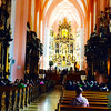 The Mondsee Cathedral, which served as the sight of Maria and the Captain's wedding! - Sound of Music Tour - Salzburg - Sat, Sept 6