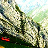 Mt Pilatus cogwheel train  - Switzerland - Tuesday, Sept 9, 3014