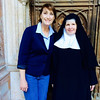 After a suprise getting to hear the nuns singing, an AMAZING and happening!  Getting to meet a nun at Nonnberg Abbey {Maria von Trapp's actual abbey!} - Salzburg - Sunday, Sept 7, 2014