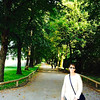 """The famous trees where the children hung in their curtain playclothes! - The famous """"I am 16 going on 17""""   Maria-Captain kiss! -  Sound of Music Tour - Salzburg - Sat, Sept 6"""