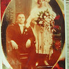 3 6 2014  Grandpa Martin and Grandma Mary, their weddding picture, married sep 10, 1922, Chicago, IL Pict0569