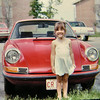 3 27 2014  Jenny & our Porsche 911T, Carbondale, IL, may 1974,