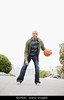 NEW TA3.1 / Little happier, doesn't have to be athletic, but should be active/represent fitness. If these are still not quite right, just let me know.<br /> <br /> Choice 11 of 14<br /> <br /> BKPN4C African American man playing basketball